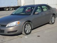 **2006 CHEVROLET IMPALA SEDAN, 3.5L gasoline,