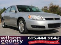 2006 Chevrolet Impala SS 5.3L V8 SFI Displacement on