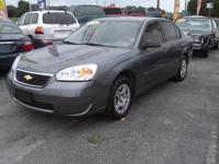 Options Included: 2006 CHEVROLET MALIBU LS. Very nice