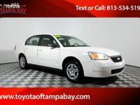 Options:  2006 Chevrolet Malibu Ls|White|Don't Wait