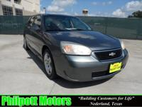 Options Included: N/A2006 Chevy Malibu Maxx, gray with