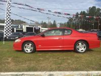Options:  2006 Chevrolet Monte Carlo |Red|Stock
