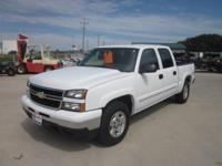 Options Included: N/A2006 CHEVROLET K1500 WHITE CREW