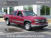 CLEAN HISTORY REPORT! This 2006 Silverado will be the
