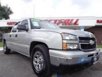 THIS IS A CLEAN 2006 CHEVY SILVERADO 1500 LS 2WD WITH A