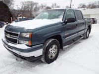 This Chevrolet Silverado is roomy, has a strong V8