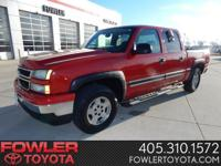 A great deal in Norman! 4 Wheel Drive!   When was the