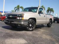 This 2006 Chevrolet Silverado 1500 LS Truck features a