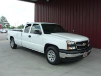 Options Included: N/A2006 SILVERADO 1500 EXT CAB 2WD