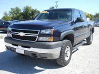 Options Included: N/A2006 Chevy Silverado 2500HD Ext.