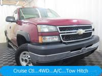 New Price! Extended Cab, Vortec 6.0L V8 SFI, 4-Speed