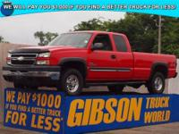 WWW.GIBSONTRUCKWORLD.COM 2006 Chevy 2500 LT Quad Cab
