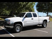 2006 Chevrolet Silverado 2500 extended cab 4+4 If your