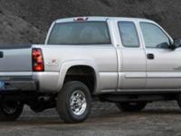 2006 Chevrolet Silverado 2500HD Clean CARFAX.  Options: