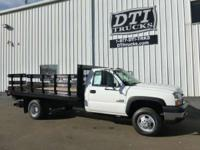 Great Running Diesel Stakebed Truck With only 13K