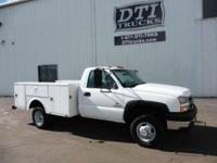 Great Running Clean Low Mileage Service Truck. Detailed