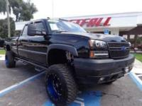 THIS IS A SWEET 2006 CHEVY 3500HD SILVERADO CREW CAB