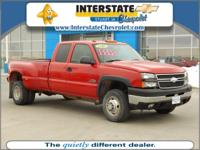 Exterior Color: red, Body: LT1 4dr Extended Cab LB DRW,