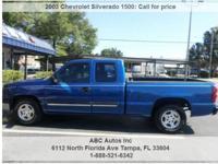 Chevrolet Silverado 1500 Automatic 4-Speed Blue 161006