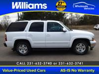 Options:  2006 Chevrolet Tahoe Lt|White| This Vehicle