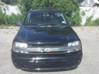For sale is a 2006 Chevrolet TrailBlazer LS Black