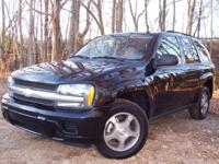 Options Included: 2006 CHEVY TRAILBLAZER LS, CARFAX &