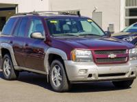 Red 2006 Chevrolet TrailBlazer 4WD 4-Speed Automatic