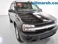 TrailBlazer LS, 4WD, Black, Air Conditioning, CD