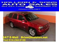 Options Included: 2006 Chevy Trailblazer SS...Rear Seat