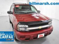 TrailBlazer LS, 4WD, Red, 8-Way Power Driver Seat, Air