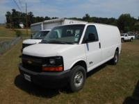 2006 Chevrolet G-2500 6.6l Duramax Diesel Cargo Van,
