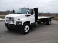 2006 Chevy C-7500 24 foot flatbed. 7.8 Isuzu diesel.