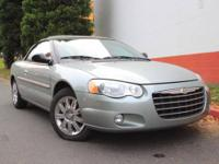 A very clean and will taken care of Chrysler Sebring