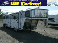 2006 CLASSIC HORSE TRAILER Our Location is: Salmon