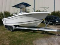 Very clean and nice 2006 Clear Water fishing boat, 22