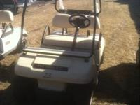 THIS IS A 2006 CLUB CAR DS ELECTRIC GOLF CART WITH LIKE