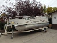2006 Crestliner 21 foot pontoon boat.  Everything is in