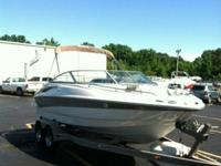 2006 Crownline 200LS Ski Boat - 21' with matching EZ