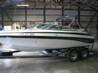 Only 178.8 hours, 260 HP, 5.0 Mercruiser Alpha One,