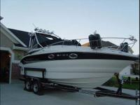 2006 Crownline 250CR. This is a beautiful well
