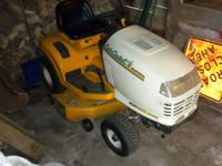 very nice mower bought from dealer ... dealer used with