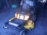 The item you are looking at is a used 2006 Cub Cadet