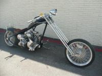 YOU ARE LOOKING AT A RADICAL CUSTOM CHOPPER THAT WAS