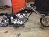 2006 Custom Built Spencer Bowman Chopper. 2006 Custom