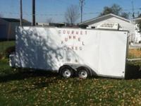 2006 Commercial Concession Food Trailer. 2006