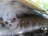 2006 fuel injected Harley Super Glide. Has a light