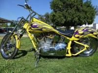 2006 Custom Softail in Excellent Condition- - Yellow