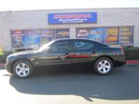 This is a lovely BLACK 2006 DODGE CHARGER 4 DOOR SEDAN