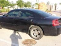 2006 Black Dodge Charger. 4 Door Sedan. In Excellent
