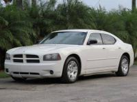 2006 DODGE CHARGER SE, AUTO, ICE COLD A/C, LOADED, PW,